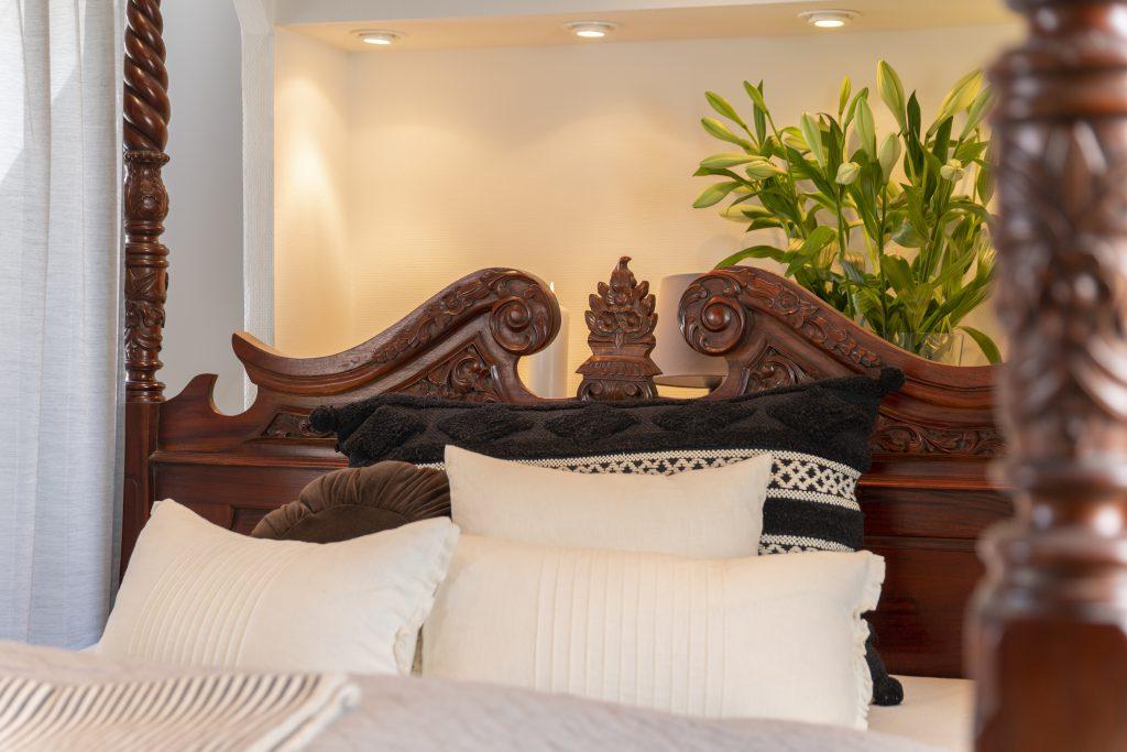 Bjørnemose Gods - Romantisk soveværelse